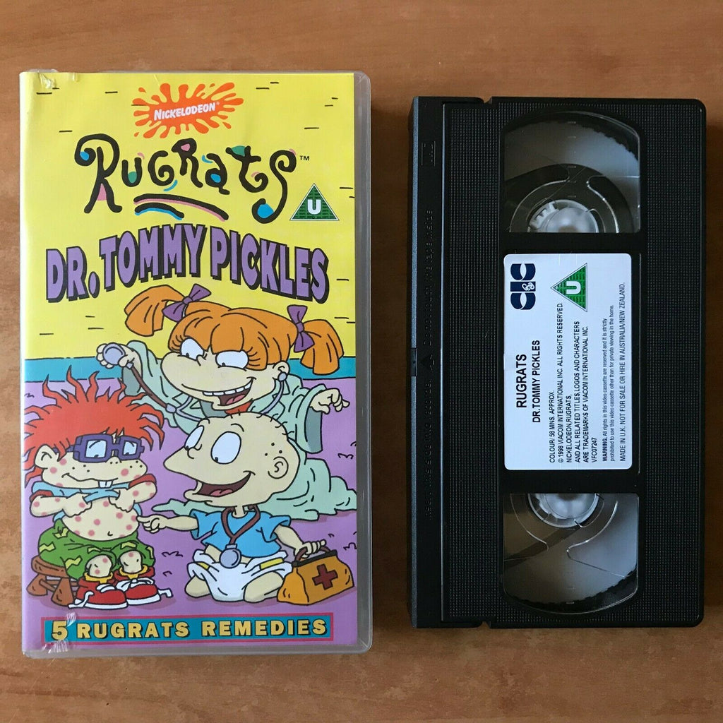 Rugrats: Dr. Tommy Pickles [Nickelodeon] 'Autumn Leaves' - Children's - Pal VHS