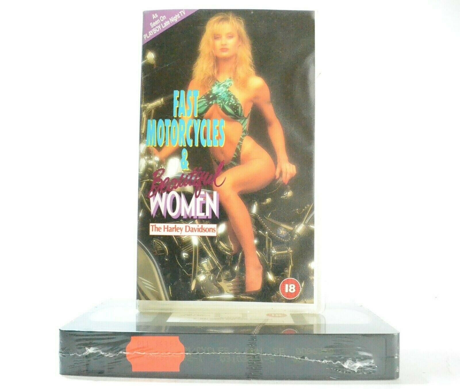 The Harley Davidson: Fast Motorcycles And Beautiful Women - TV Series - Pal VHS