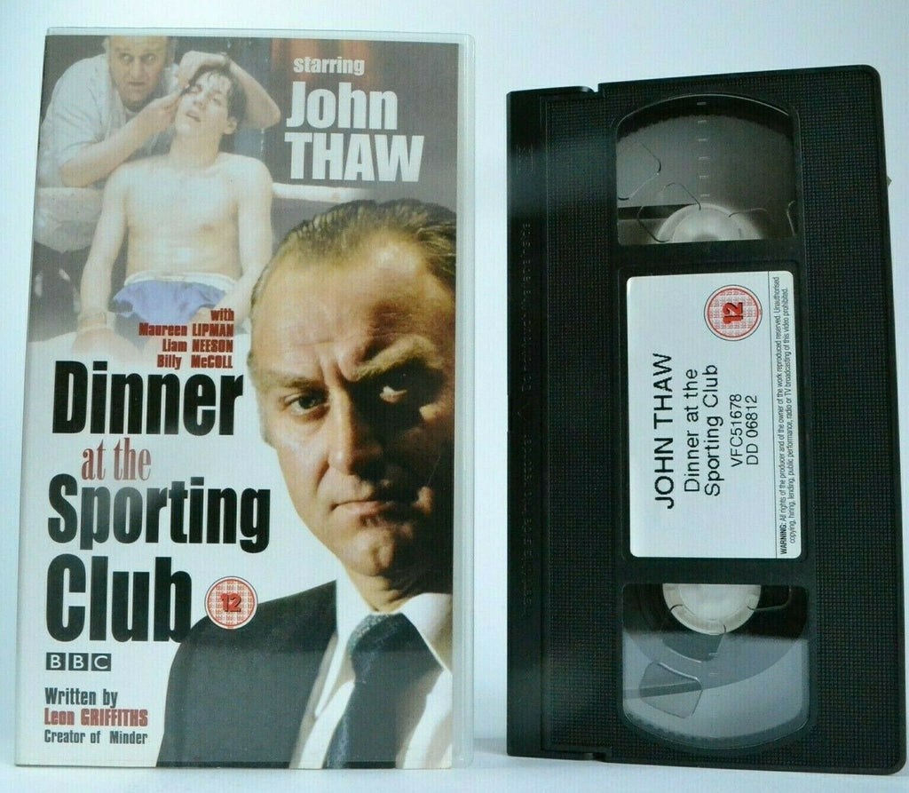 Dinner At The Sporting Club (BBC): [Leon Griffiths] TV Series - John Thaw - VHS