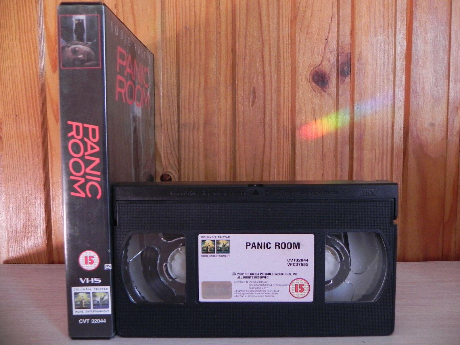 Panic Room (2002); [David Fincher]: Psychological Thriller [Big Box] - Pal VHS