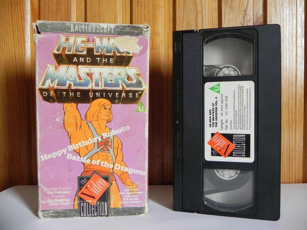 He-Man And The Masters Of The Universe - Happy Birthday Roboto - Animated - VHS