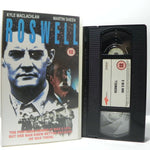 Roswell: (1994) Mystery Of UFO - Real Events - K.Maclachlan/M.Sheen - Pal VHS