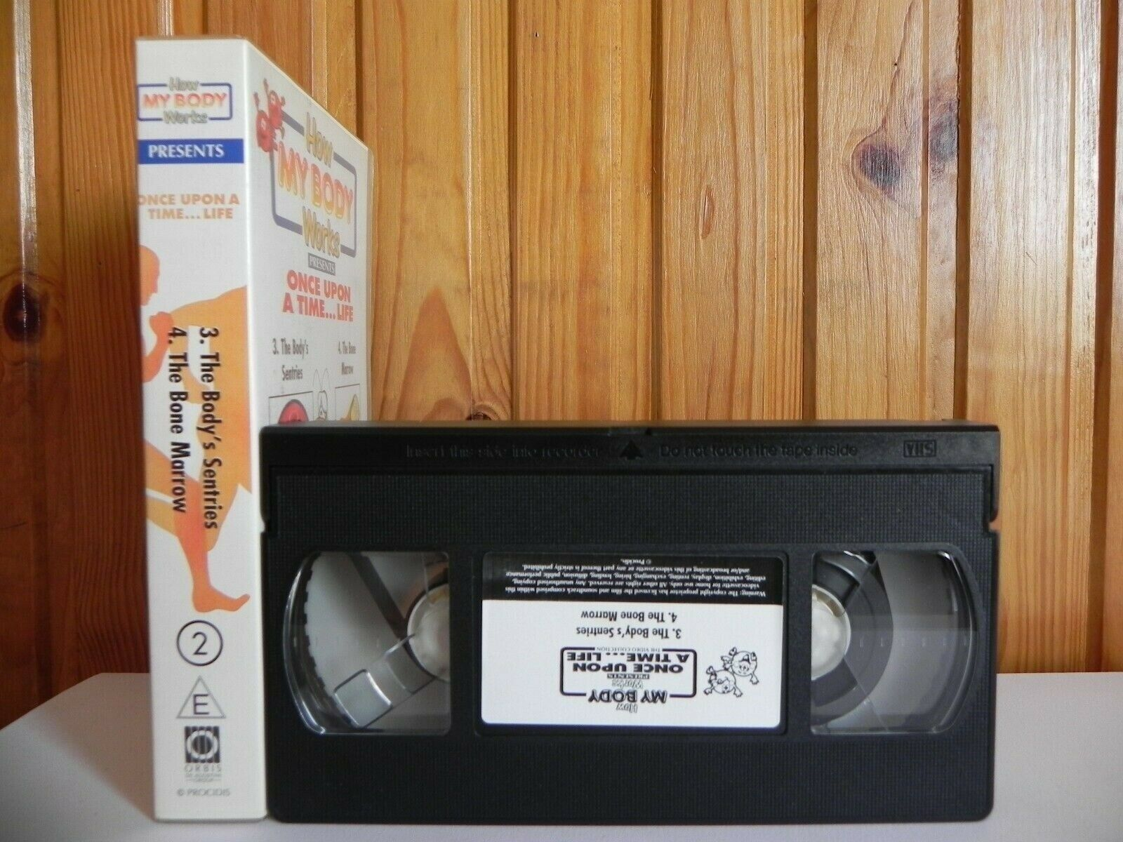 How My Body Works: Once Upon A Time...Life - Vol.2 - The Body's Sentries - VHS