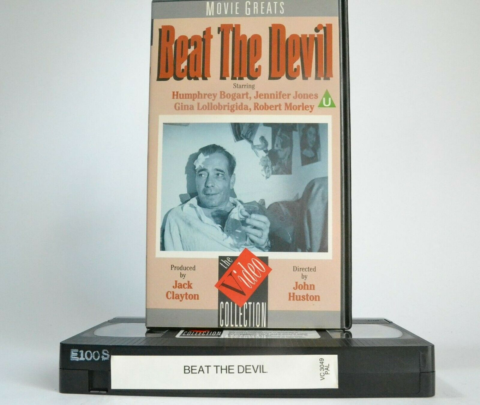 1963, Action, Action & Adventure, Adventure, Beat, Bogart, Devil, Humphrey, Humphrey Bogart, Jennifer, Jones, PAL, The, VHS