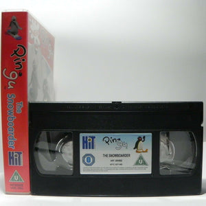 Pingu: The Snowboarder - Classic Animation - New Adventures - Children's - VHS