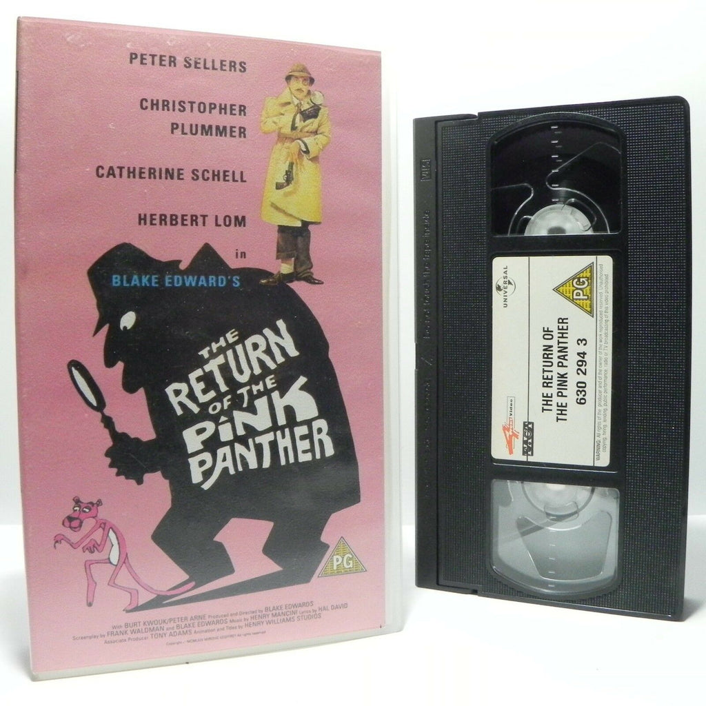 The Return Of The Pink Panther: Classic Movie - P.Sellers/C.Plummer - Pal VHS