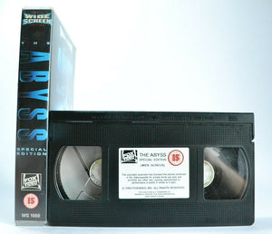 The Abyss: Special Edition - Sci-Fi - A J.Cameron Film (1989) - Widescreen - VHS