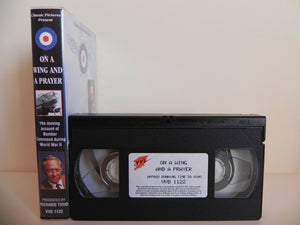 On A Wing And A Prayer - Classic Pictures - Brave Aircrew - World War Two - VHS