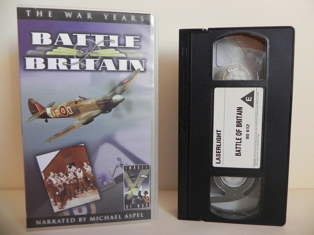 Battle Of Britain - Part 2 - The War Years - Michael Aspel - Documentary - VHS