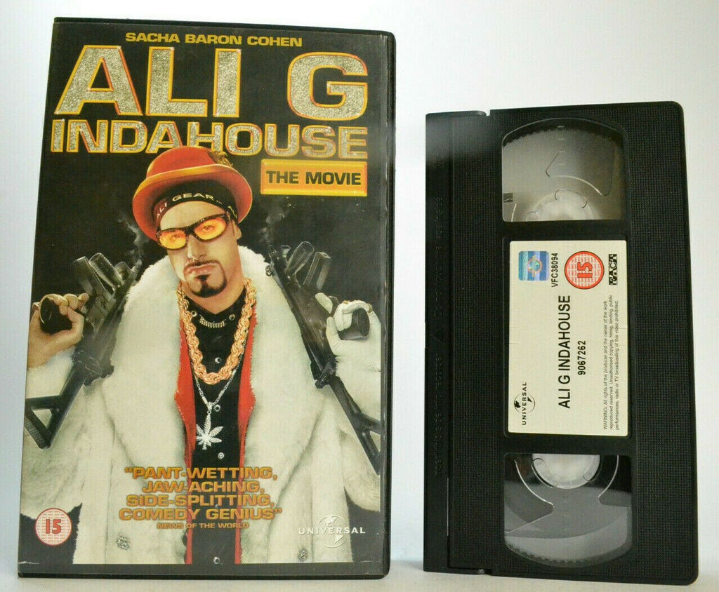 Ali G Indahouse: In The House Comedy (2002) - Large Box - Ex-Rental - Pal VHS