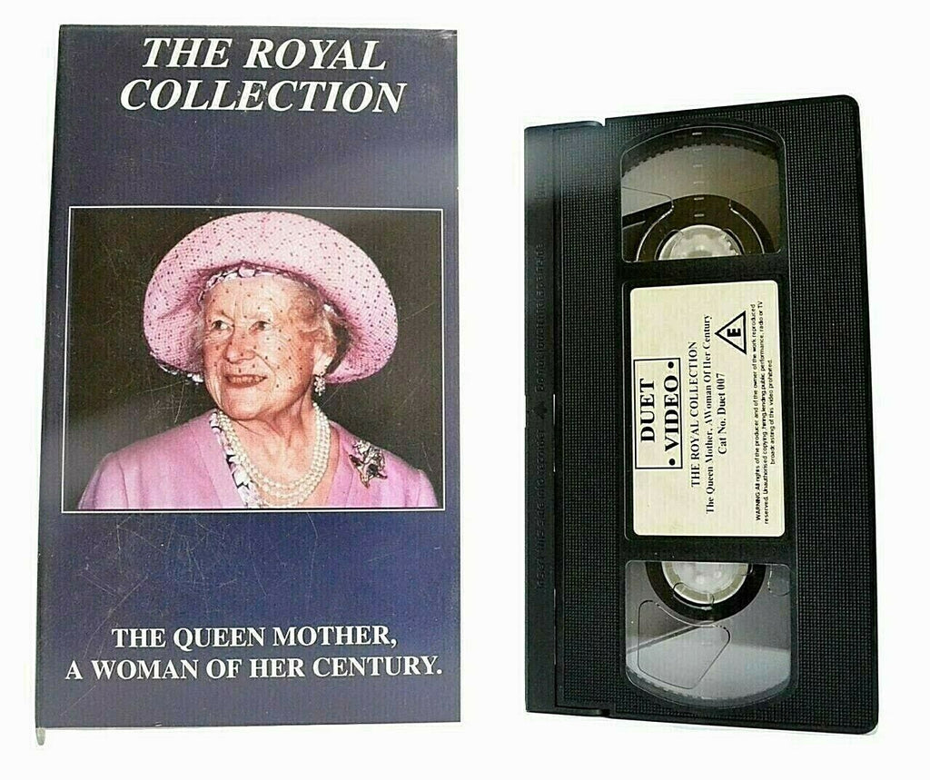 The Queen Mother: A Women Of Her Century [The Royal Collection] - England - VHS