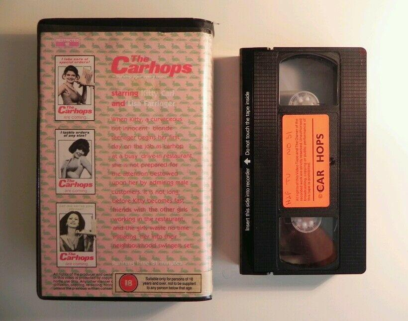 Carhops - Peter Locke (The Hills Have Eyes) - Big Box - Rare Pre Cert VHS (294)