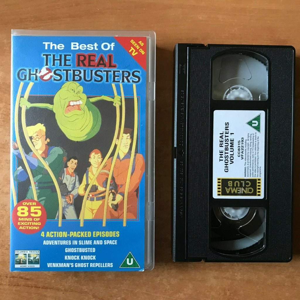 The Real Ghostbusters (The Best Of); [85 mins]: Ghostbusted - Animated - VHS