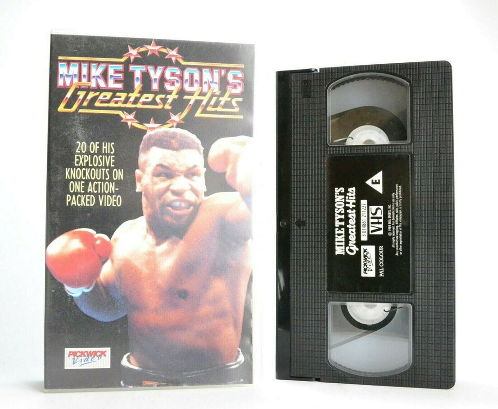Mike Tyson: Greatest Hits - Iron Mike - 20 Explosive Knockouts - Boxing - VHS