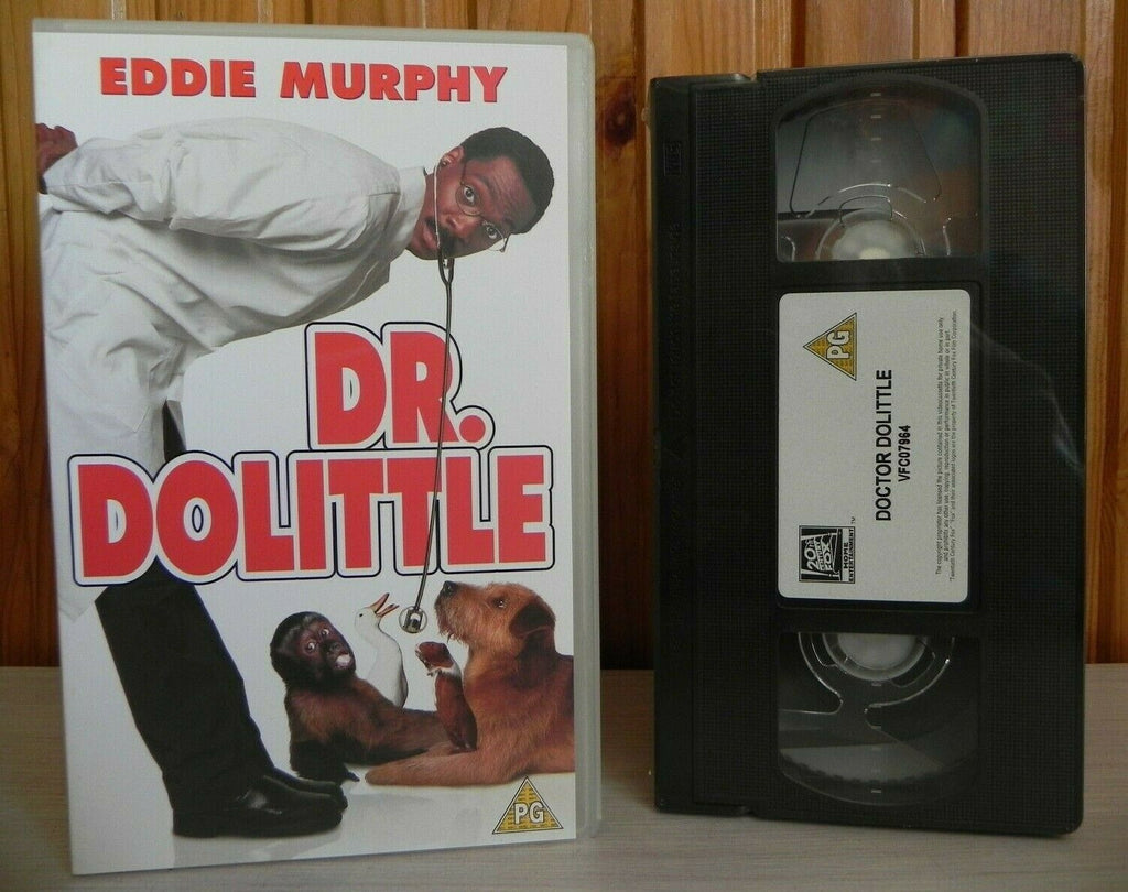 Dr.Dolittle (1998): Brand New Sealed - Comedy - Eddie Murphy - Children's - VHS