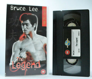 Bruce Lee: The Legend - (1997) 4 Front - Documentary - Martial Arts Hero - VHS
