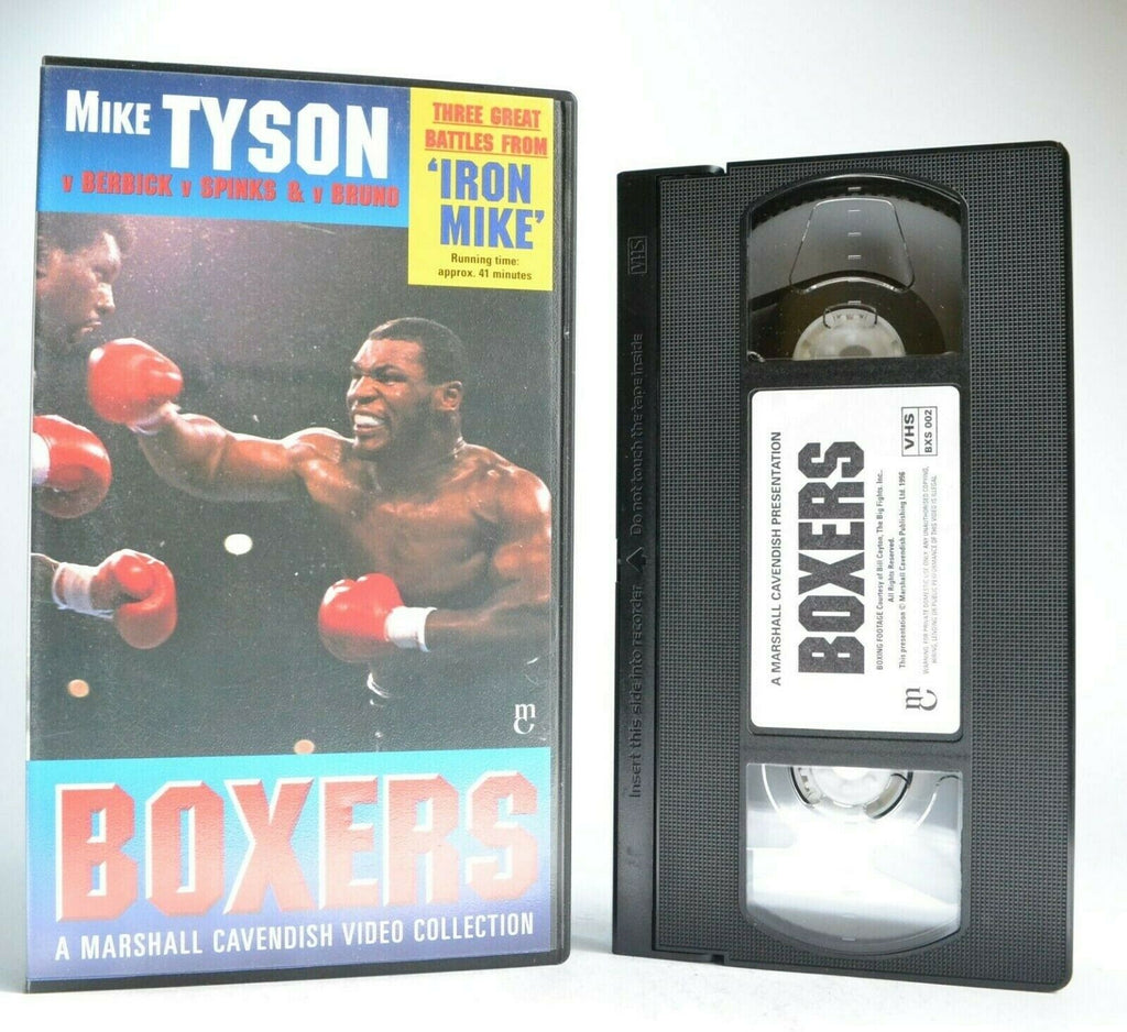 Boxers Video Collection: Mike Tyson - Iron Mike - Great Battles - Boxing - VHS
