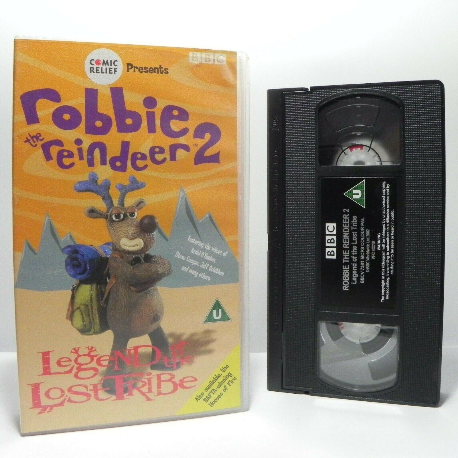 Robbie The Reindeer 2: Legend Of The Lost Tribe - Animated - Children's - VHS