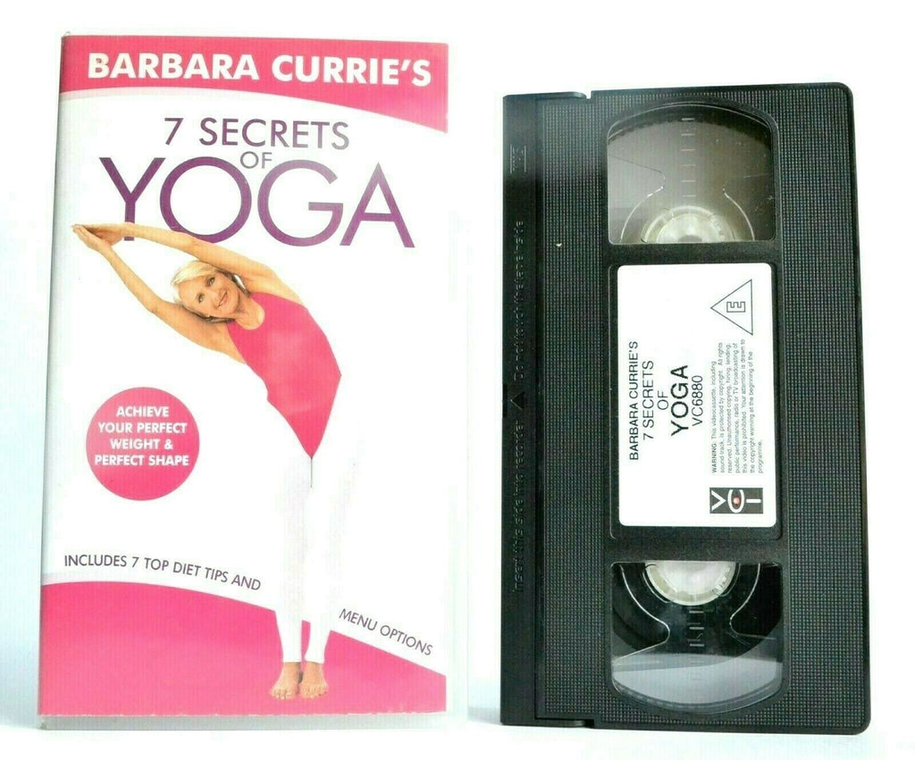 2001, Barbara, Barbara Currie, Body, Britney Spears, By, Currie, Exercise & Fitness, No, Of, PAL, Power, Secrets, Steve Kemsley, Stretch, Transformation, Transformers, VHS