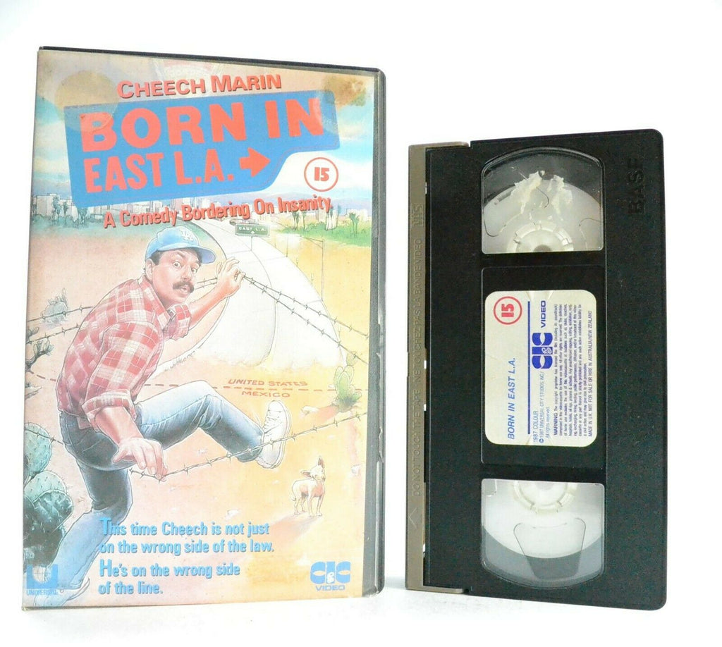 Born In East L.A.: A Cheech Marin Film - Comedy - Large Box - Pre-Cert - Pal VHS