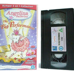 Angelina, Angelina Ballerina, Animated, Big, Bumper, Children's & Family, Children's T.V. Series, Collection, Judi Dench, Katharine Holabird, Pal, Performance, The, U, United Kingdom, VHS