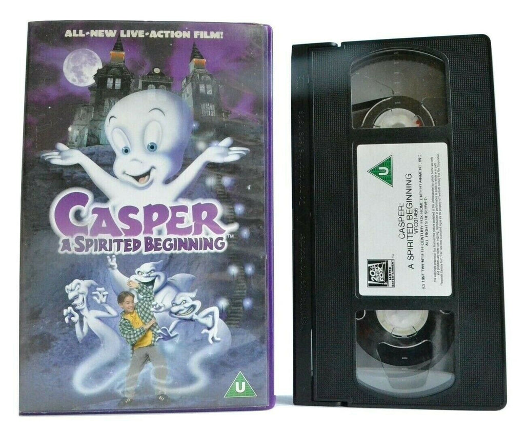 Casper: A Spirited Beginning - Family Film - Steve Guttenberg - Kids - Pal VHS