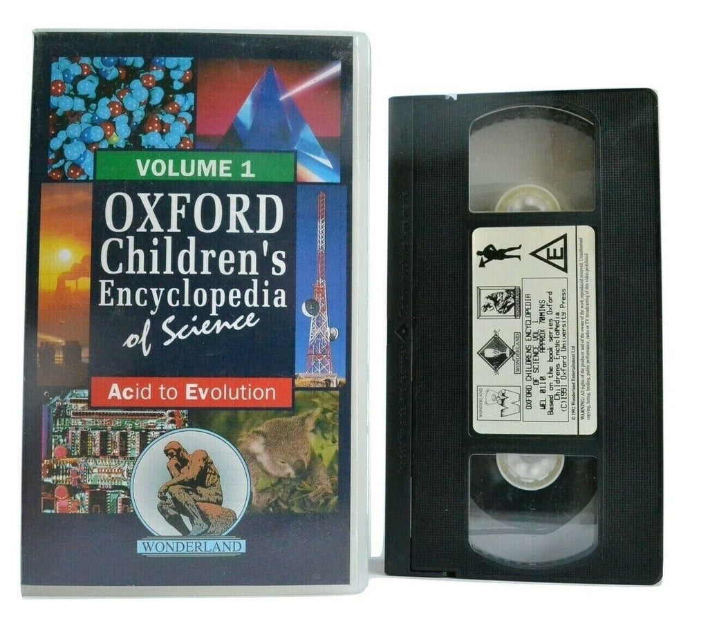 Oxford Children's Encyclopedia Of Science: Acid To Evolution - Educational - VHS
