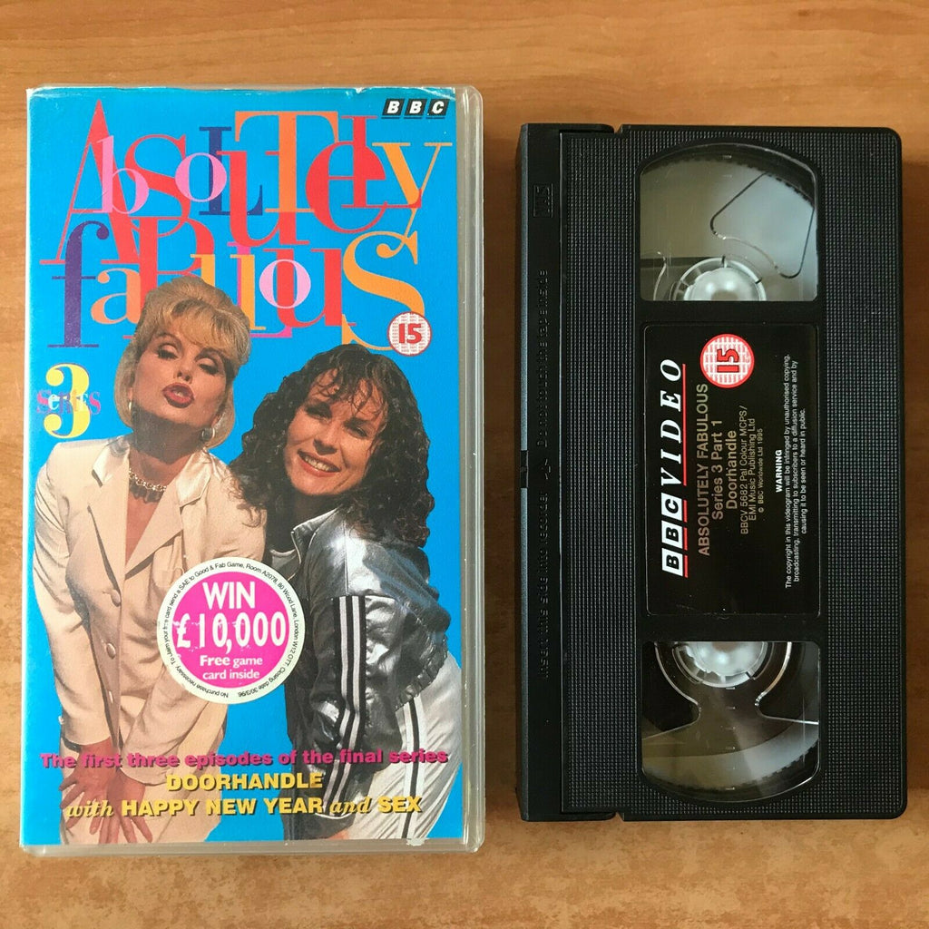 Absolutely Fabulous (Series 3): Happy New Year [BBC] Jennifer Saunders - Pal VHS