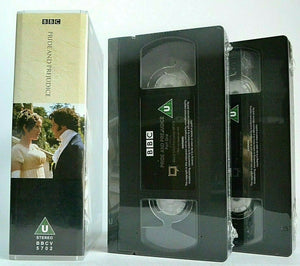 Pride And Prejudice: By Jane Austen - Brand New Sealed - BBC TV Drama - Pal VHS