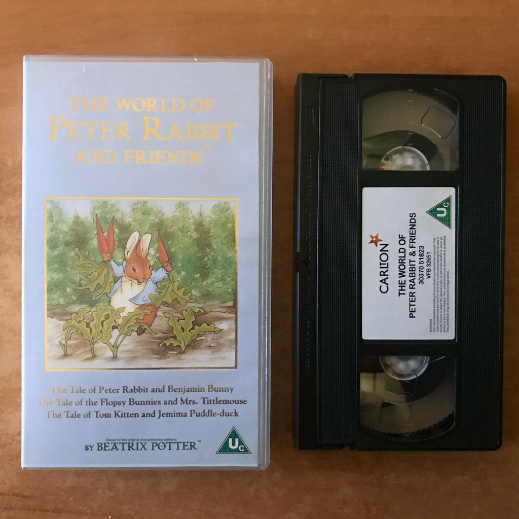 The World Of Peter Rabbit And Friends; [Beatrix Potter] Animated - Kids - VHS