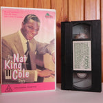 The Nat King Cole Story - Large Box - Dino Video - Musical - Drama - Pal VHS
