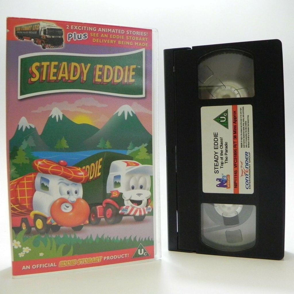 Steady Eddie: Top Of The Class - Exciting Animated Stories - Children's - VHS