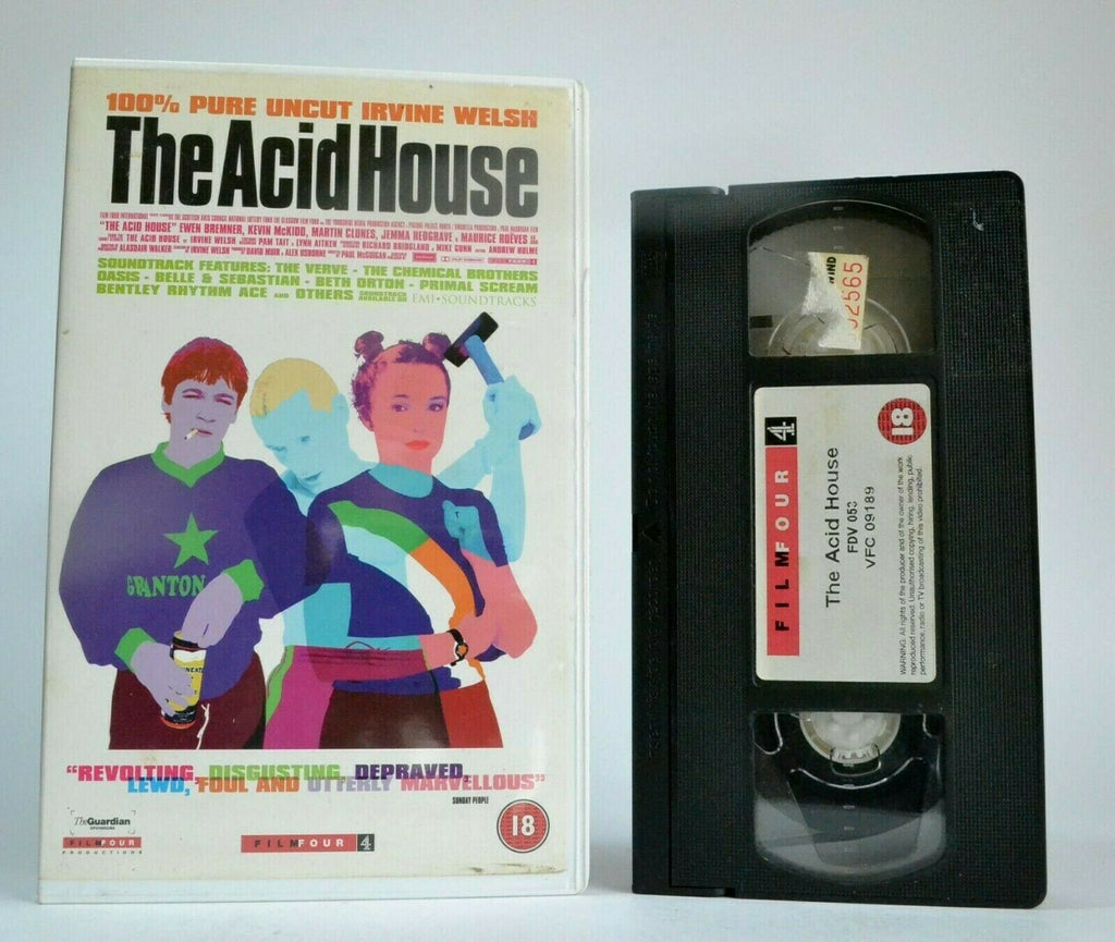 The Acid House: By Irvine Welsh - Three Short Stories - Drama - Large Box - VHS