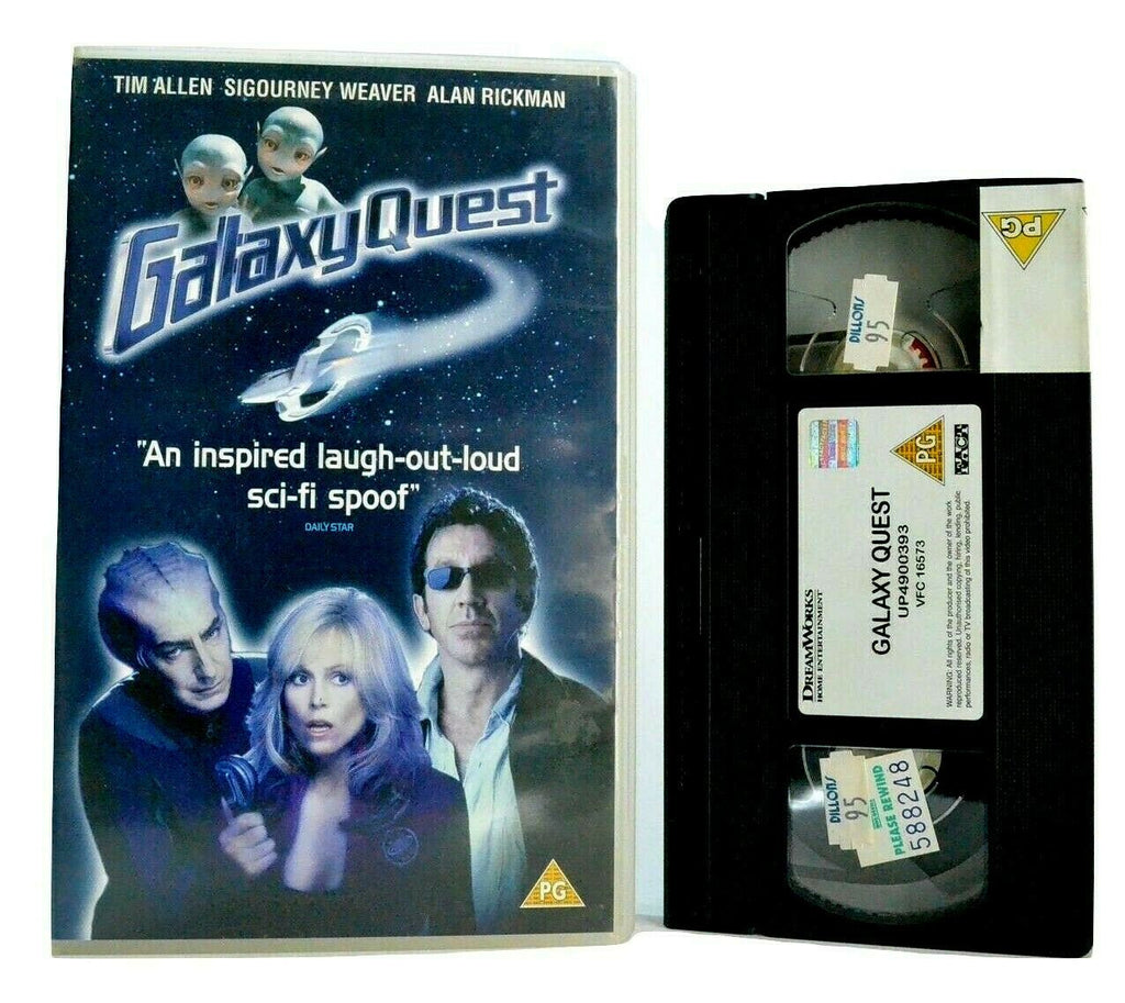 Galaxy Quest: Sci-Fi Films Parody - Comedy (1999) - Large Box - S.Weaver - VHS