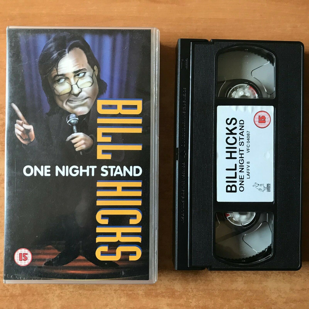 Bill Hicks: One Night Stand (1991) [Vic Theatre/Chicago] Stand Up Comedy - VHS