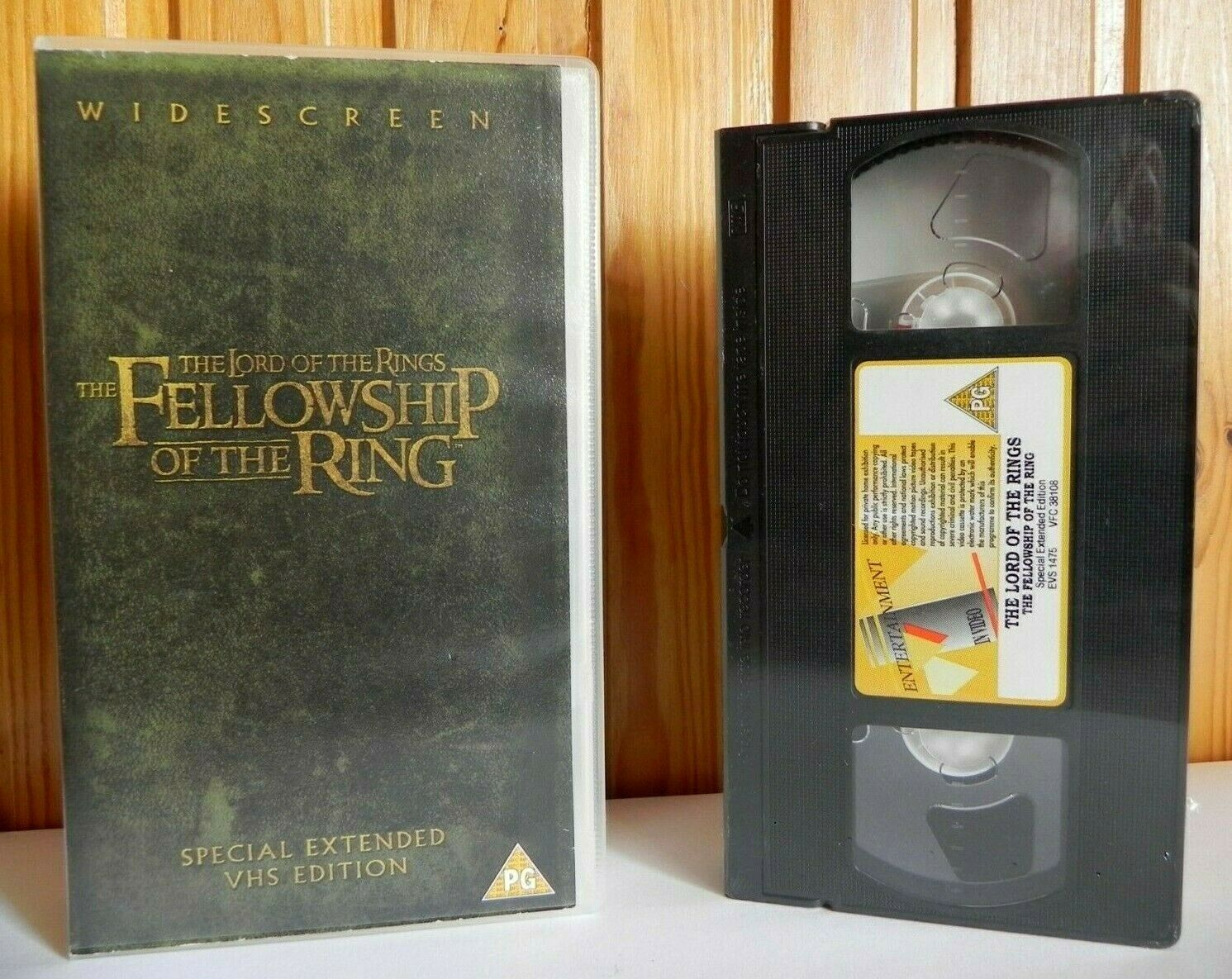 The Lord Of The Rings (Fellowship) [Free Postcard] New Sealed - Widescreen - VHS