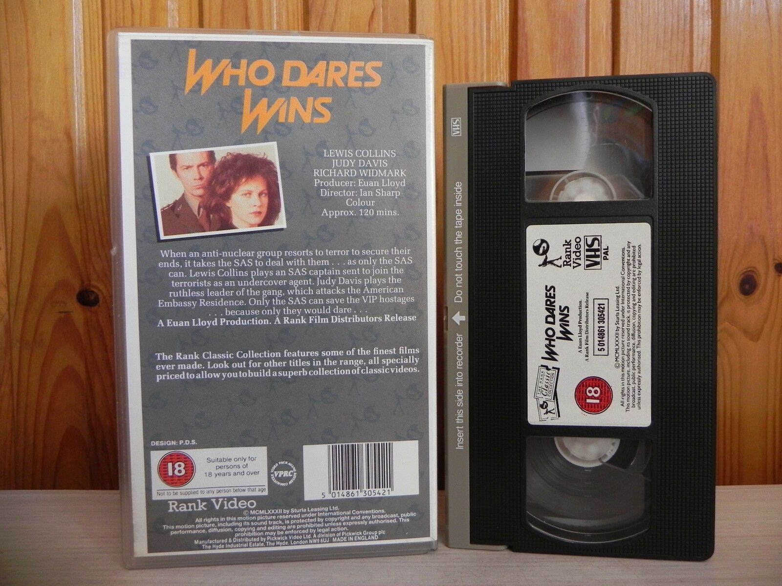 Who Dares Wins - SAS Sent In For VIP Hostages - Rank Video - Action - Pal VHS