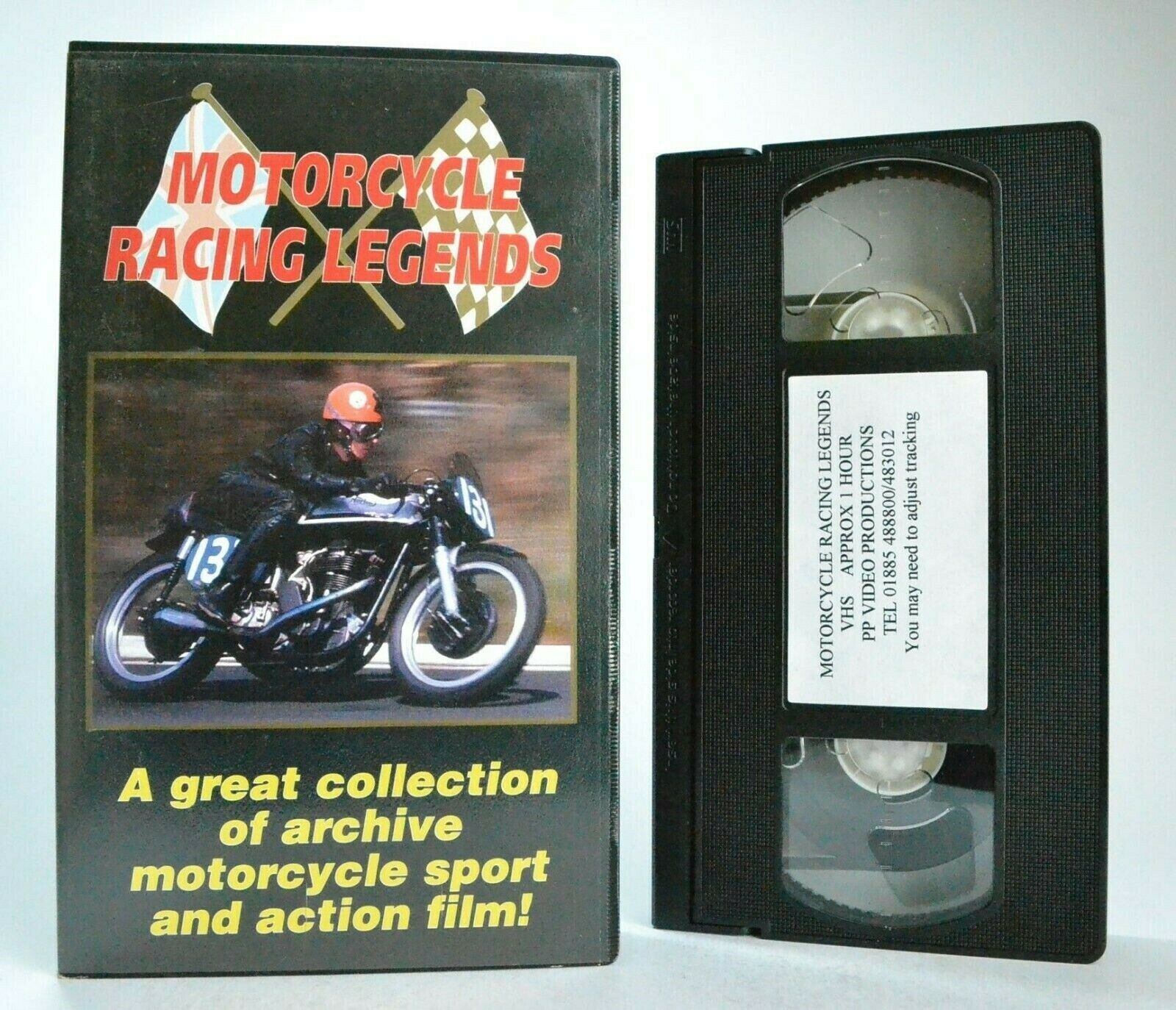 Motorcycle Racing Legends: Vintage Motorcycling Vol.1 - Motorsports - Pal VHS
