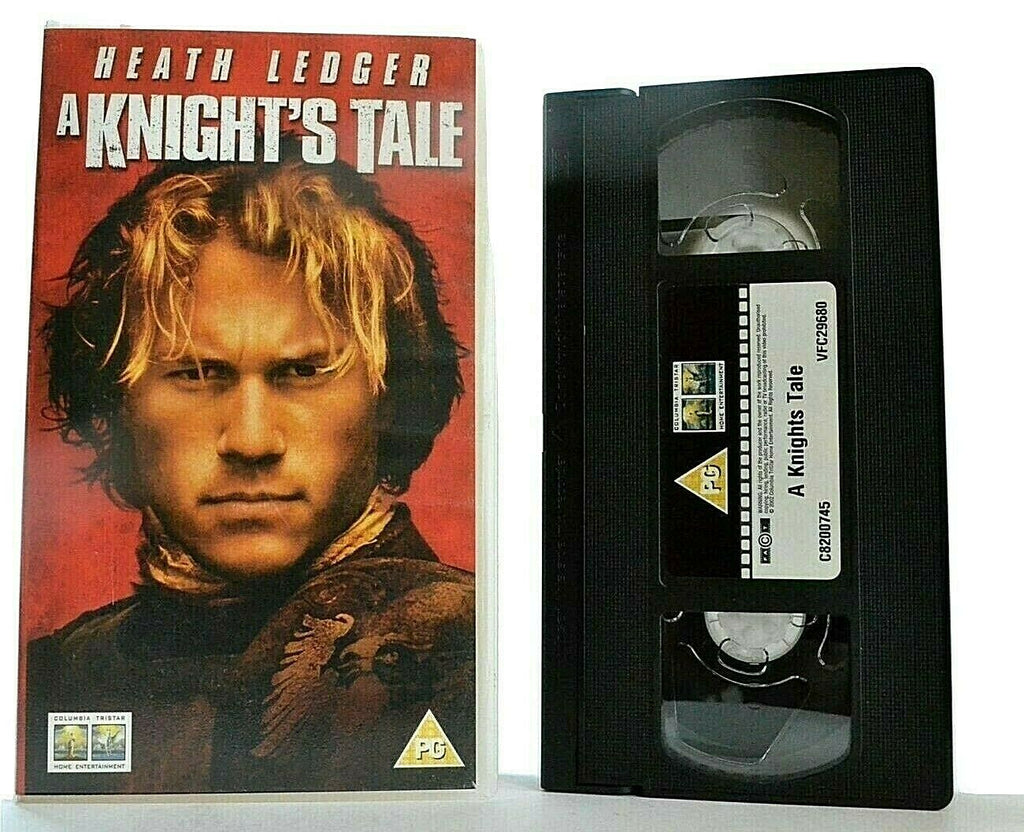 A Knight's Tale: Action Comedy Adventure - 14th Century - Heath Ledger - Pal VHS