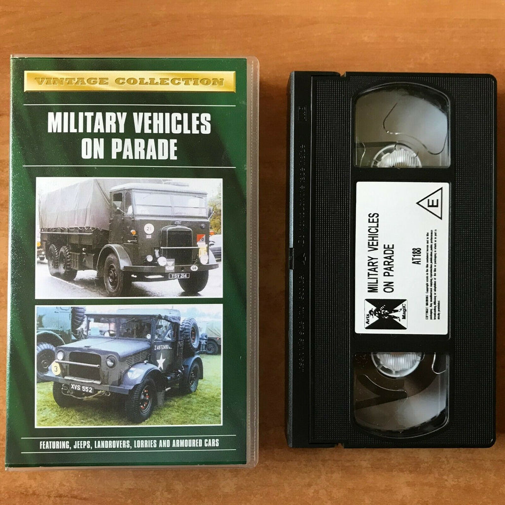Military Vehicles On Parade; [Annual Yeovil Festival]: Jeeps - Land Rovers - VHS
