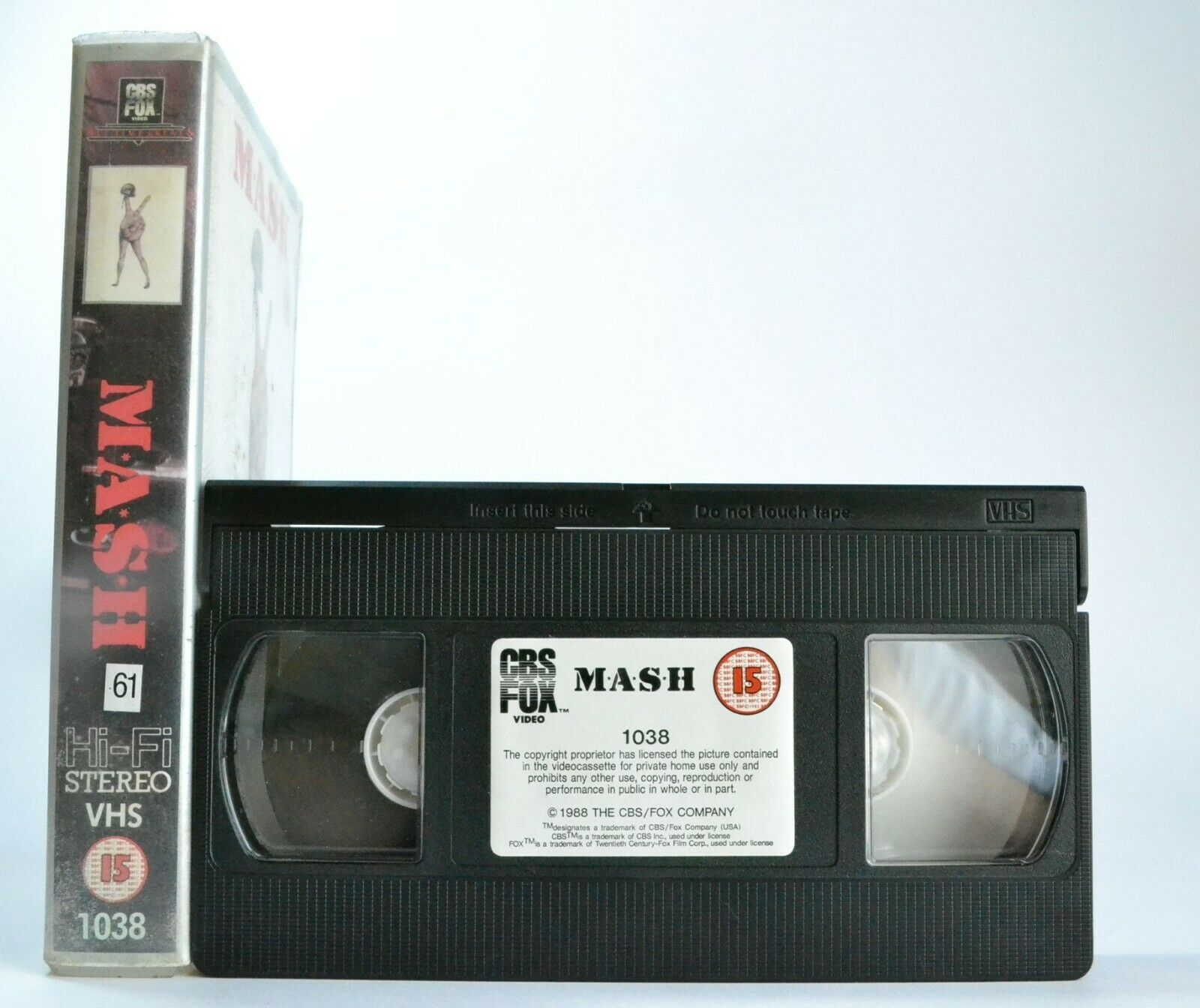 M*A*S*H* (MASH): (1970) Black War Comedy - Donald Sutherland/Robert Duvall - VHS