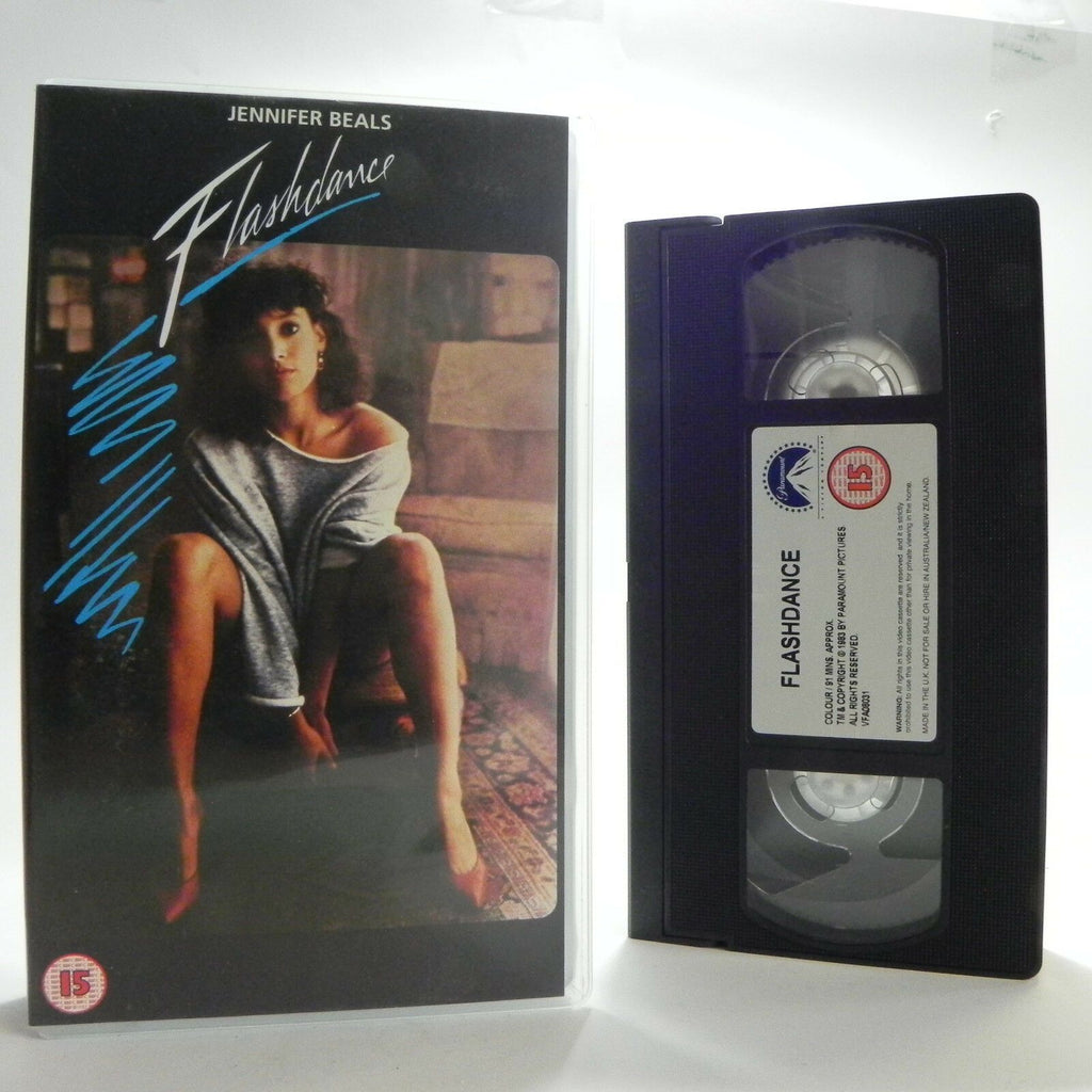 "Flashdance: ""What A Feeling"" - (1983) Digitally Sourced/Dolby Surround - Pal VHS"