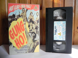 Gung Ho! - Screen - War Drama - Randolph Scott - Robert Mitchum - Pal VHS