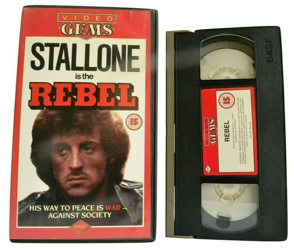 Rebel [aka No Place To Hide]: (1973) Cult Thriller - Sylvester Stallone - OOP VHS