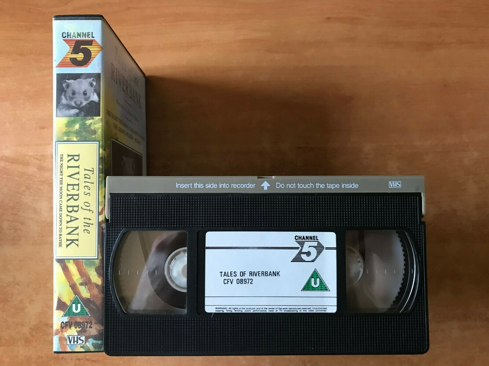 Tales Of The Riverbank; [Johnny Morris]: The Areoplane Ride - Children's - VHS