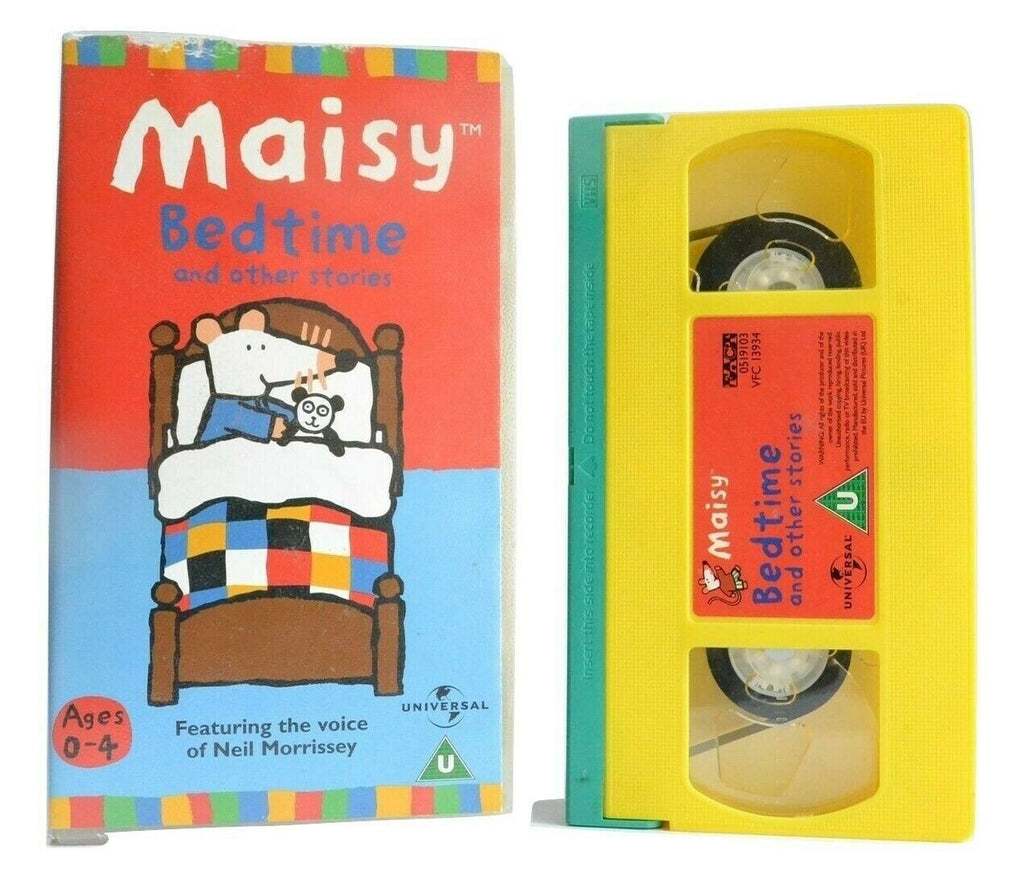 Maisy: Bedtime And Other Stories - Animated - Educational - Children's - Pal VHS