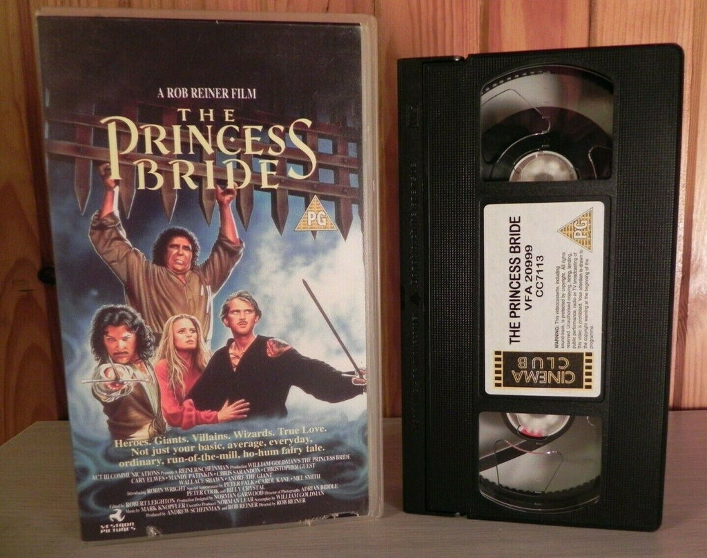The Princess Bride: A Rob Reiner Film (1987) - Adventure Film - Kids - Pal VHS