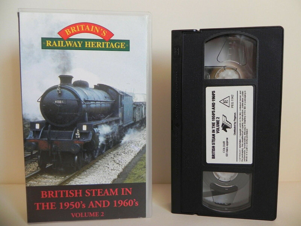 Britain's Railway Heritage - British Steam In 50's And 60's - Volume 2 - Pal VHS