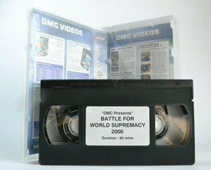 DMC Battle For World Supremacy 2000; [Skycape/London] - DJ J-Syles - Pal VHS