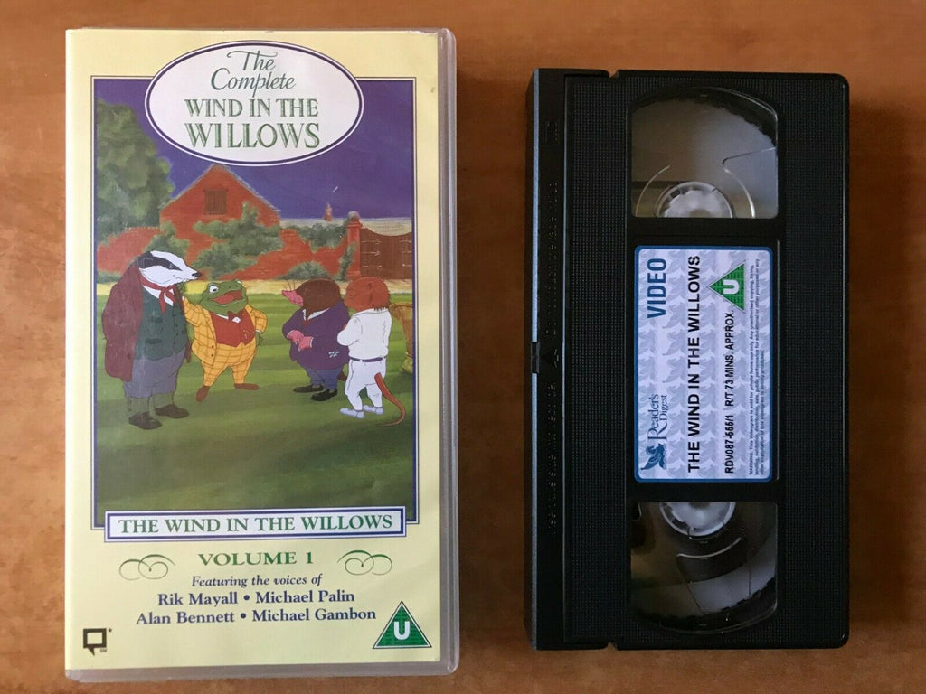 The Complete Wind In The Willows (Vol. 1): Animated [Rik Mayall] Kids - Pal VHS